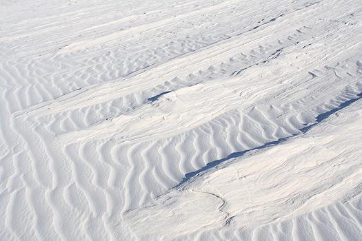 这裏也是并不很典型的波浪沙纹